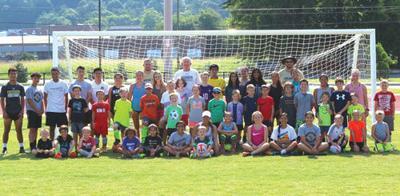 Calhoun Soccer Camp group shot
