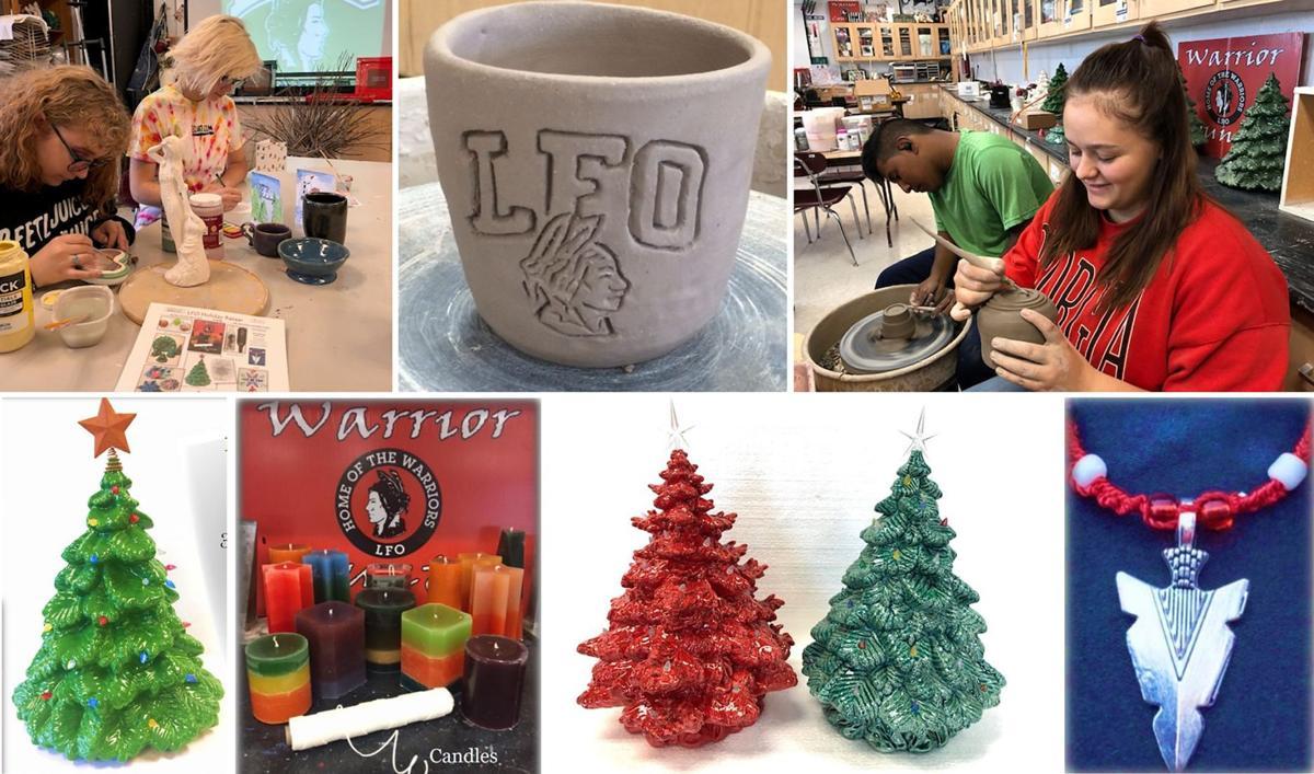 LFO art students, holiday items