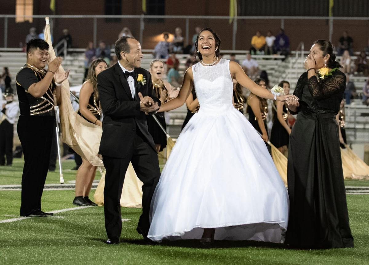 CHS, SHS crown homecoming queens