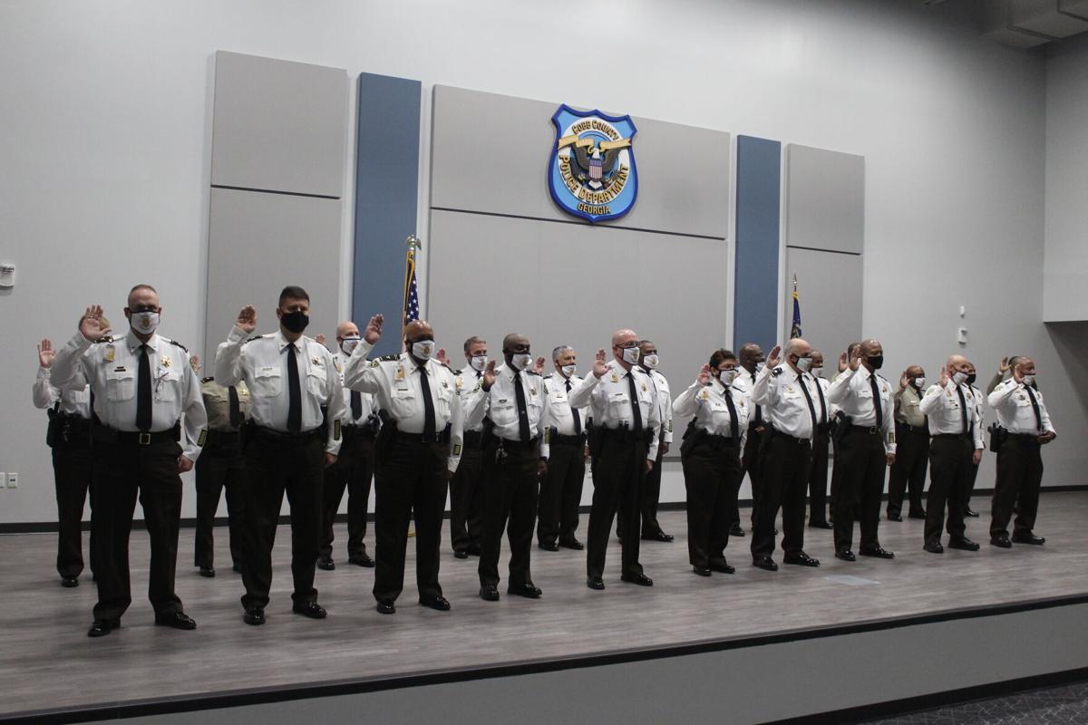 CCSO command staff swearing in