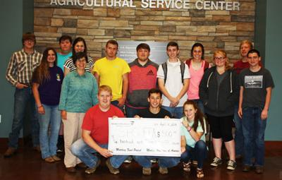 Modern Woodmen fundraiser for Sonoraville High and Red Bud Middle School FFA a success