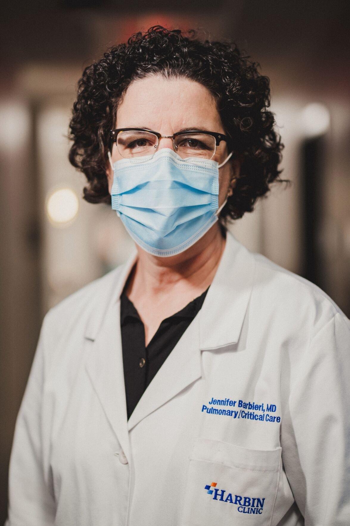 Pulmonologist Dr. Jennifer Barbieri, MD, FCCP