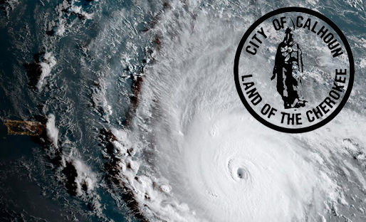 City of Calhoun Public Notice: Hurricane Irma Preparedness