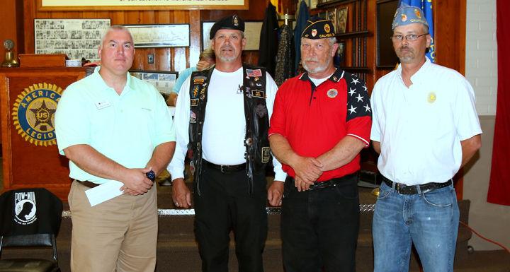 Local American Legion post donates to American Red Cross