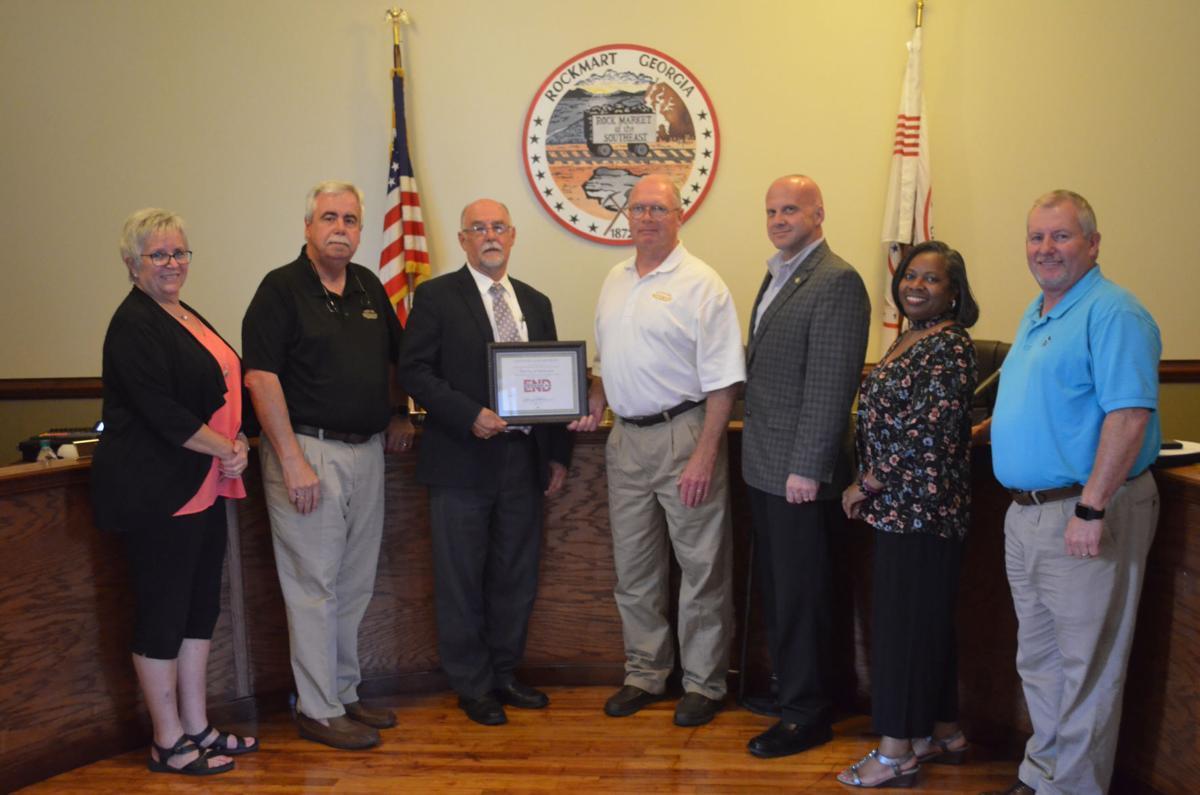 Rockmart City Council August 2019