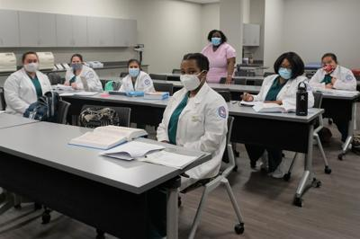 Chatt Tech Medical Assisting Students with Instructor Amber Tinner.JPG