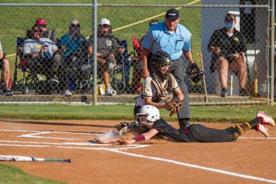 Pepperell vs. Dade County softball