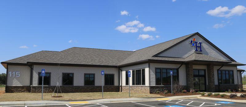 Harbin Clinic facility in Adairsville