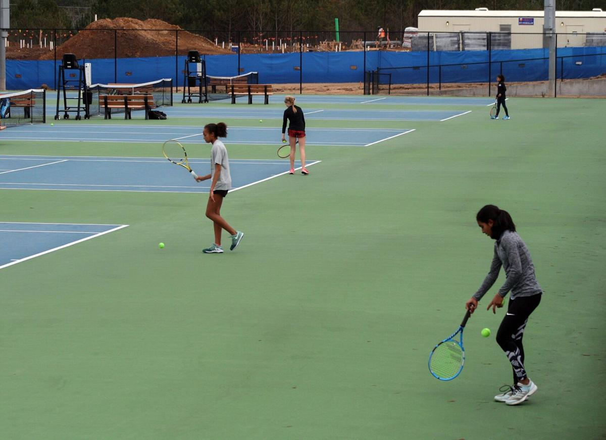 Courts are full for USTA Southern Junior Winter Championships