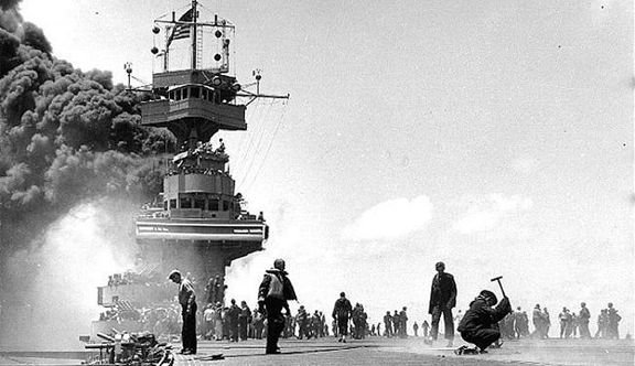 WORLD WAR II DIARY: Remembering the USS YORKTOWN (CV-5)….75 Years Later