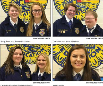 GCHS FFA members named as State Agriscience finalists