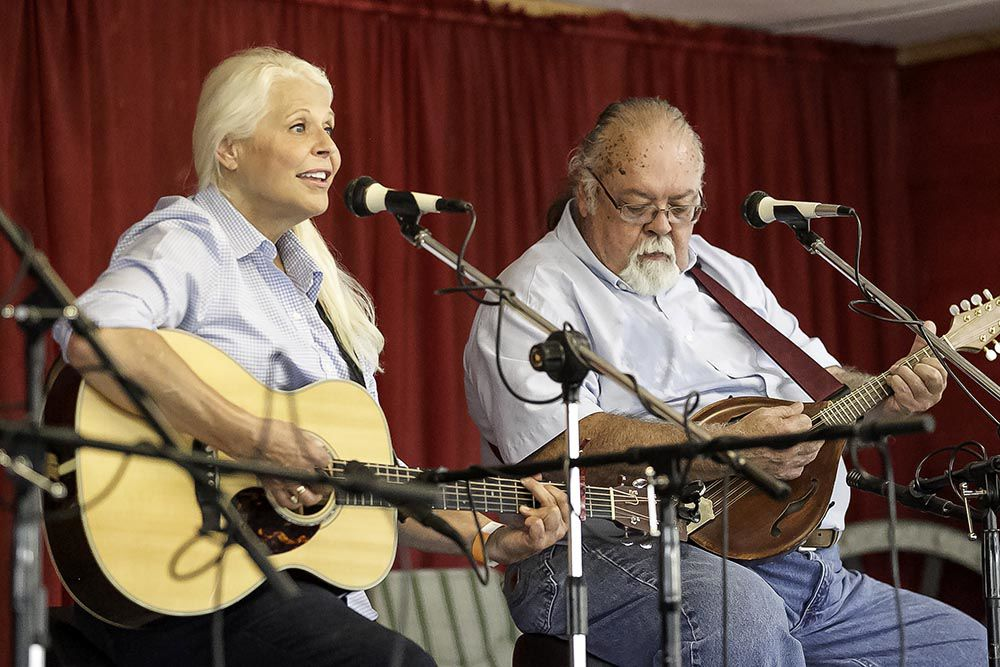 Pickin' and a grinnin' at the Armuchee Blue Grass Festival