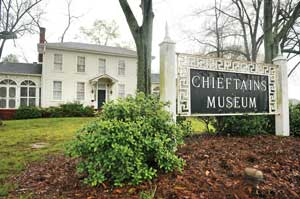 Chieftains Museum and Major Ridge Home