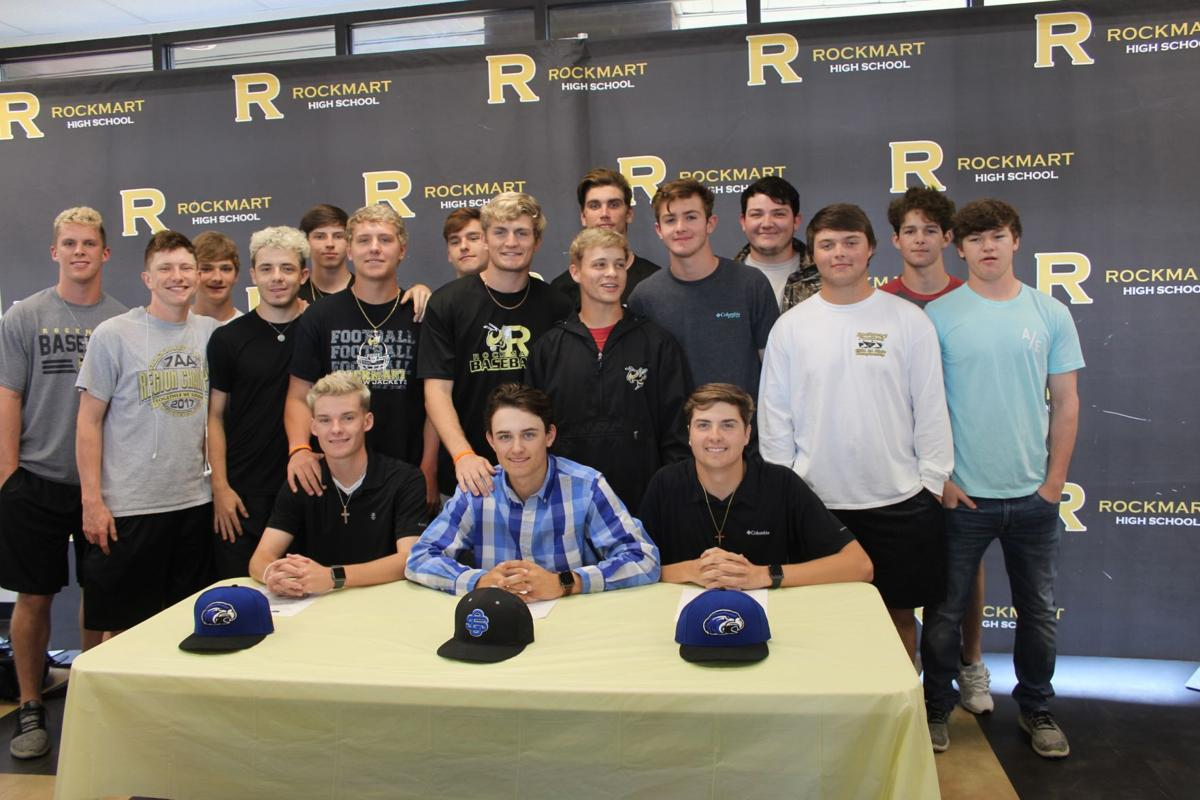 Rockmart Baseball College Signing April 2019