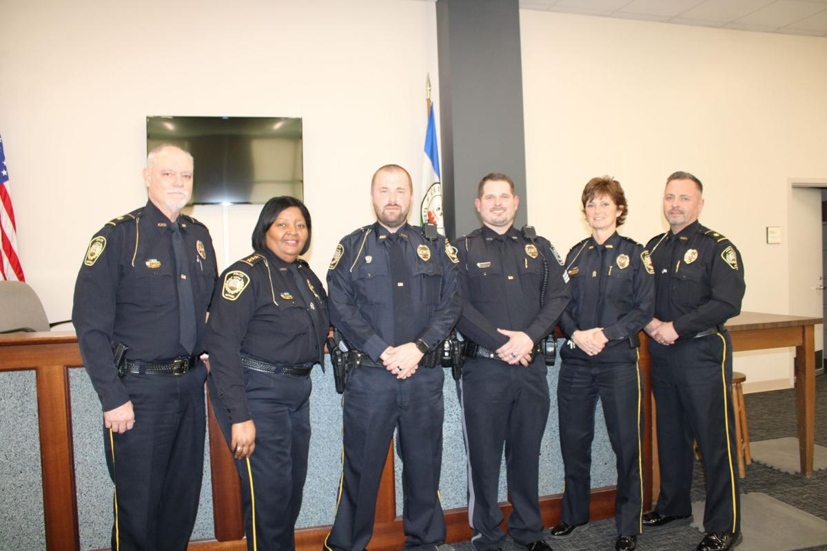 Rome Police Department officers get promoted