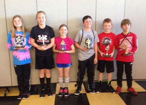 Elks Hoop Shoot 10-11 winners