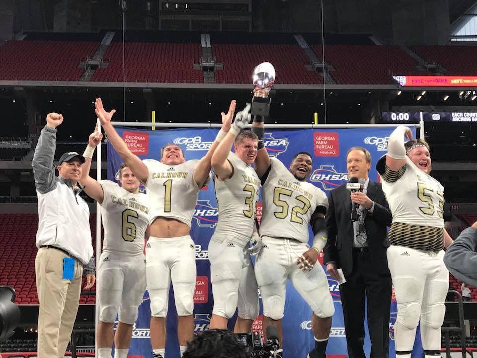 Calhoun wins Class AAA State Title