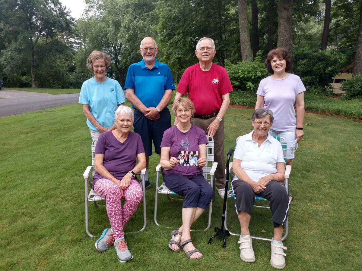 Daily morning walking group bids farewell to members of 30 years