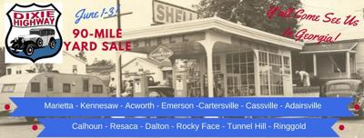 The Dixie Highway 90-Mile Yard Sale returns today   The