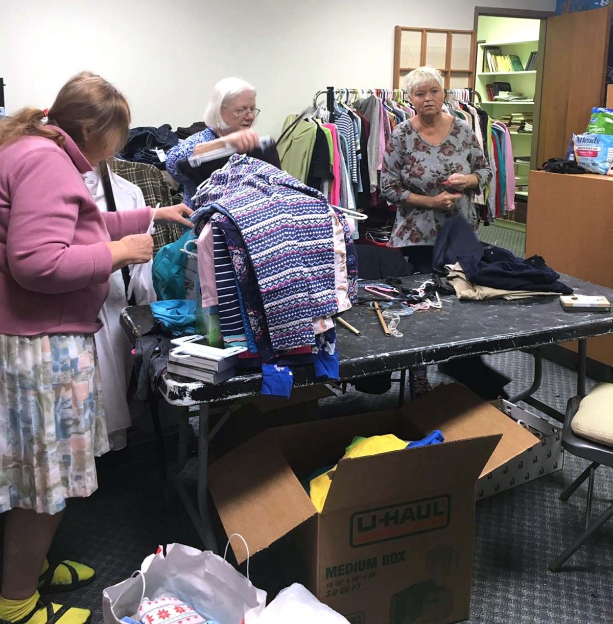 McFarland United Methodist free clothing