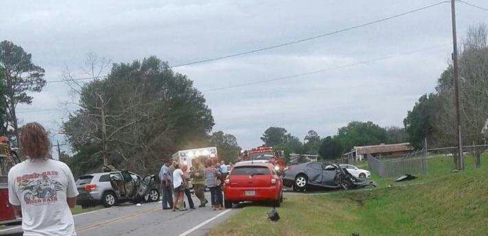 Wednesday night accident on 225 results in two airlifted