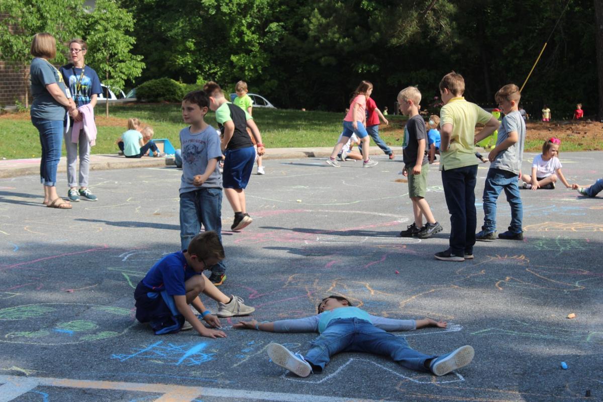 Earth Day at Eastside Elementary School