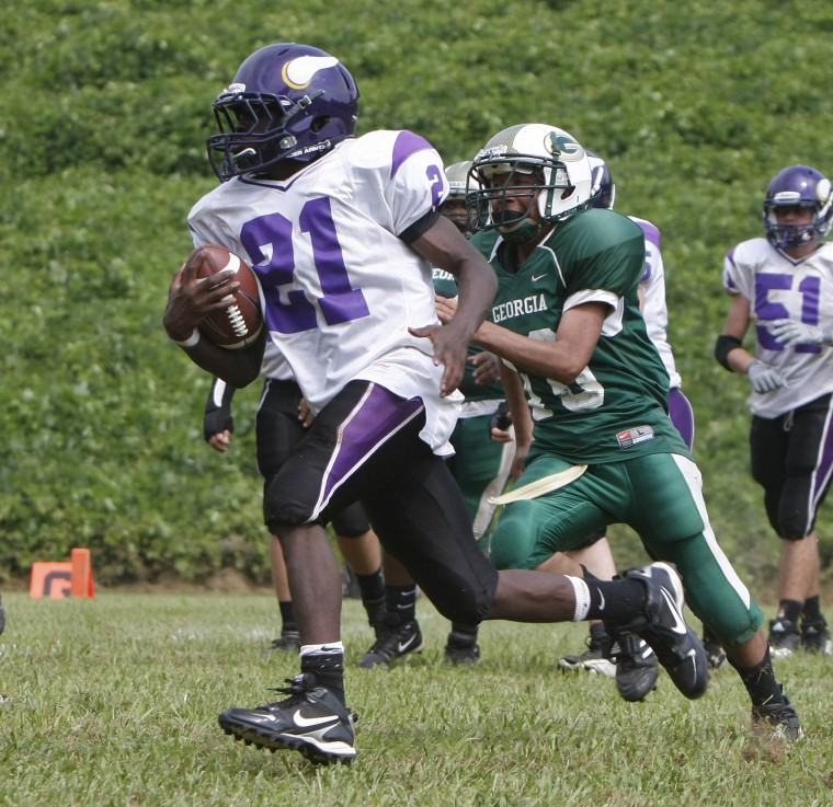 Football: TN School for the Deaf at GSD | Football ...