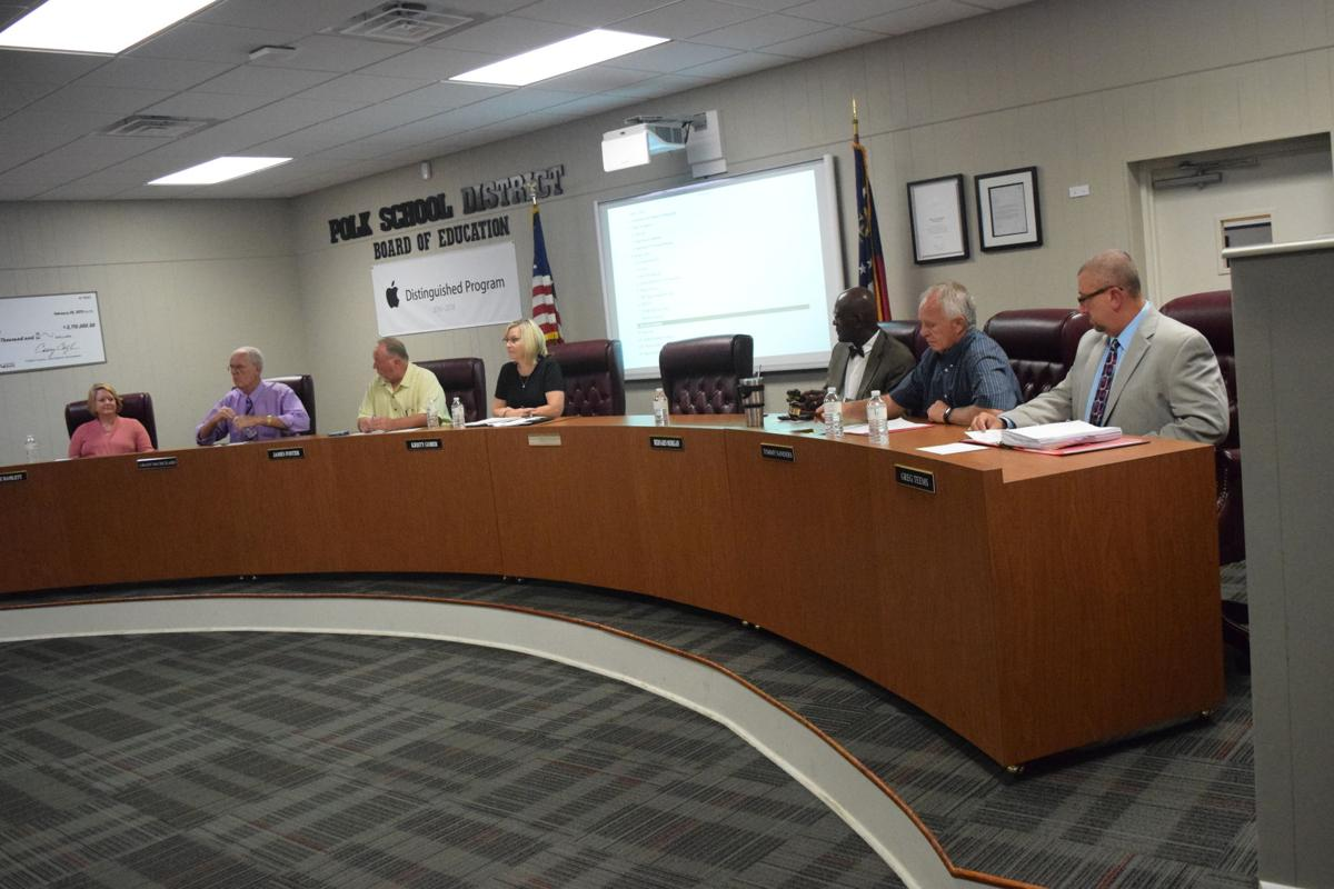 Polk County Board of Education, August 2017