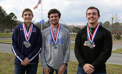 WRESTLING: Senior trio share Catoosa County Wrestler of the Year honors