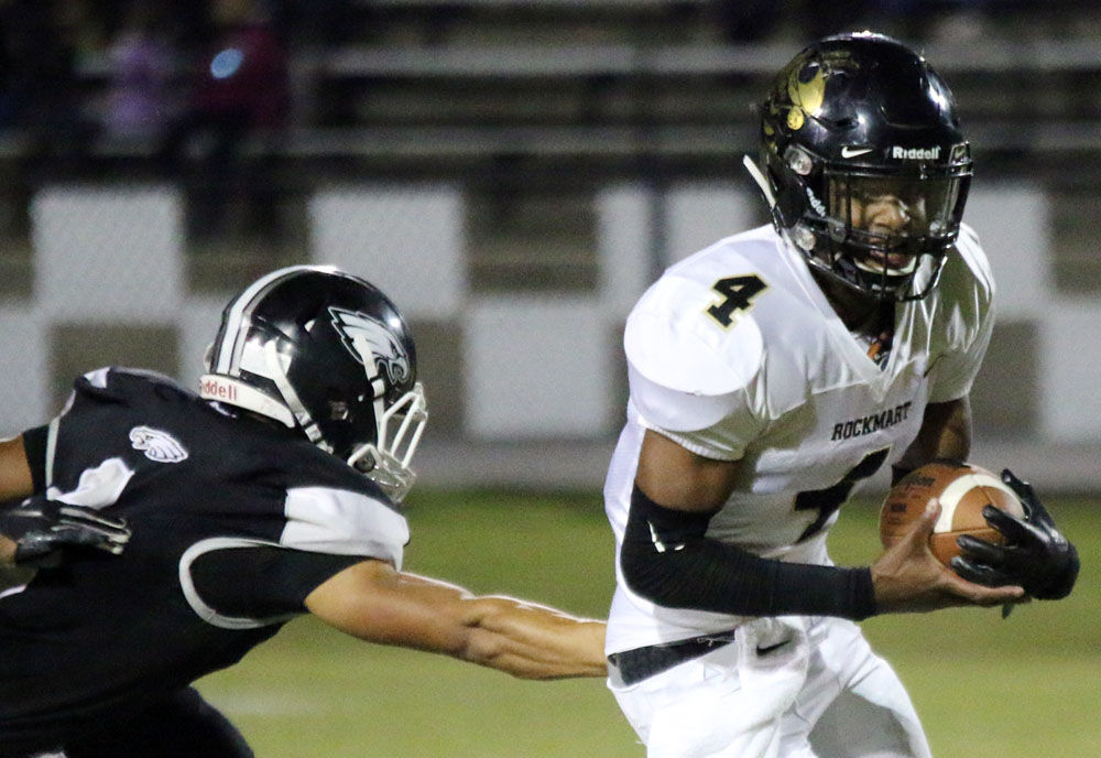 Prep Football Rockmart Strikes Early In 42 0 Win Over Coosa High