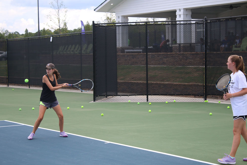 Rome Tennis Center at Berry College grand opening