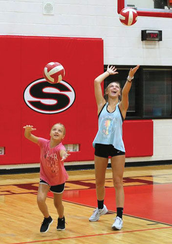 Sonoraville volleyball camp