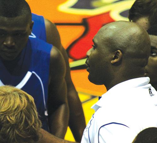Gordon Central coach Rodney English