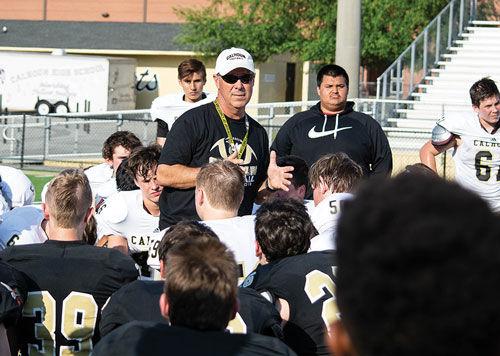 Calhoun coach Hal Lamb