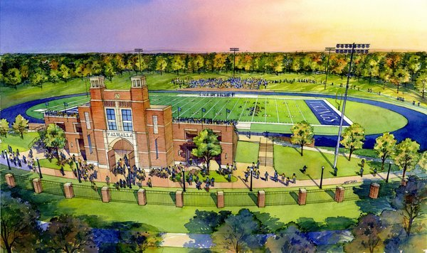Berry to use Barron Stadium for some games