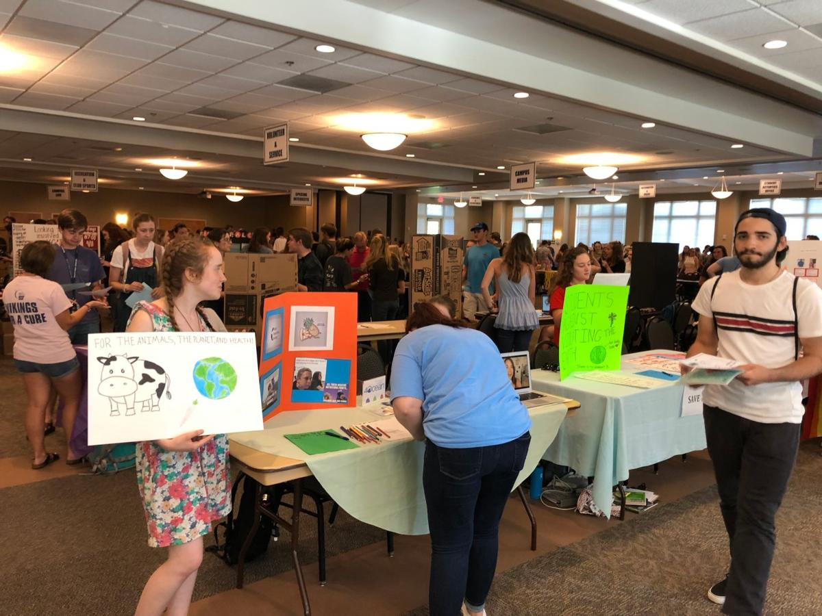 Berry College Involvement Fair offers wide variety of activities, clubs to students