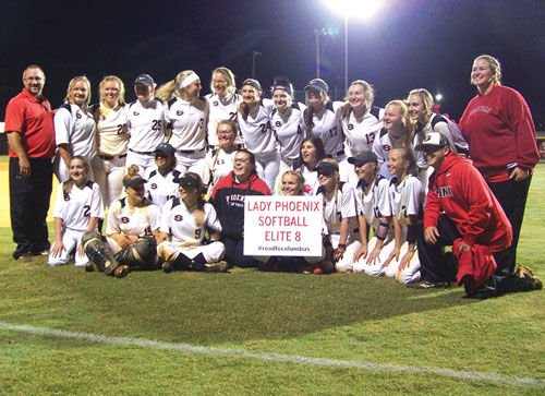 Sonoraville team after second-round win