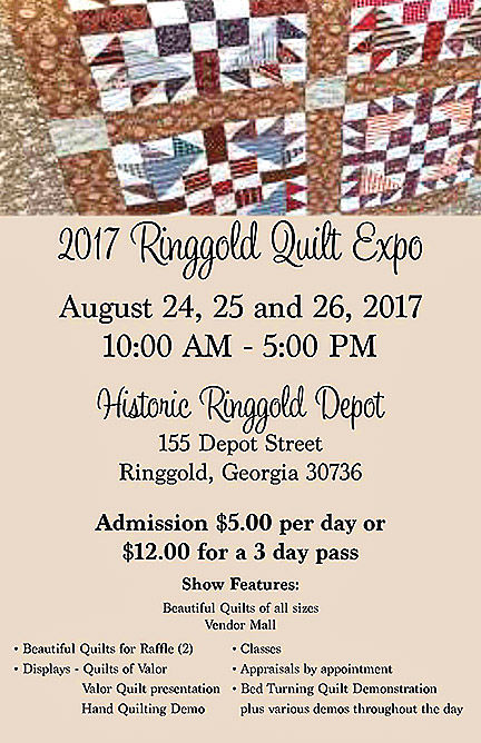 Ringgold Quilt Expo