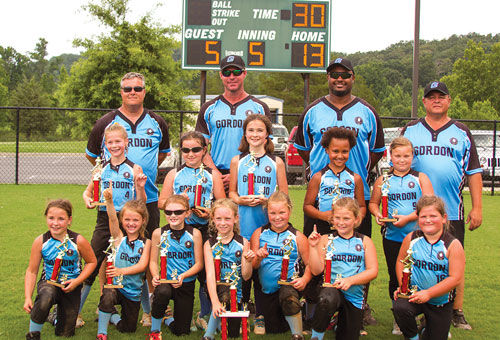 Gordon County 8-under All-Stars win state title
