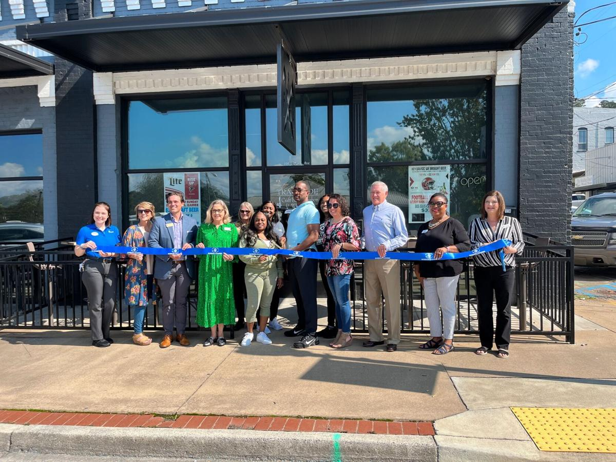 Trackside owner cuts ribbon on new craft beer and wine bar