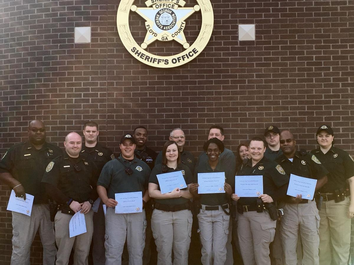 Sheriff recognizes 15 deputies for their role in preventing suicides at the jail