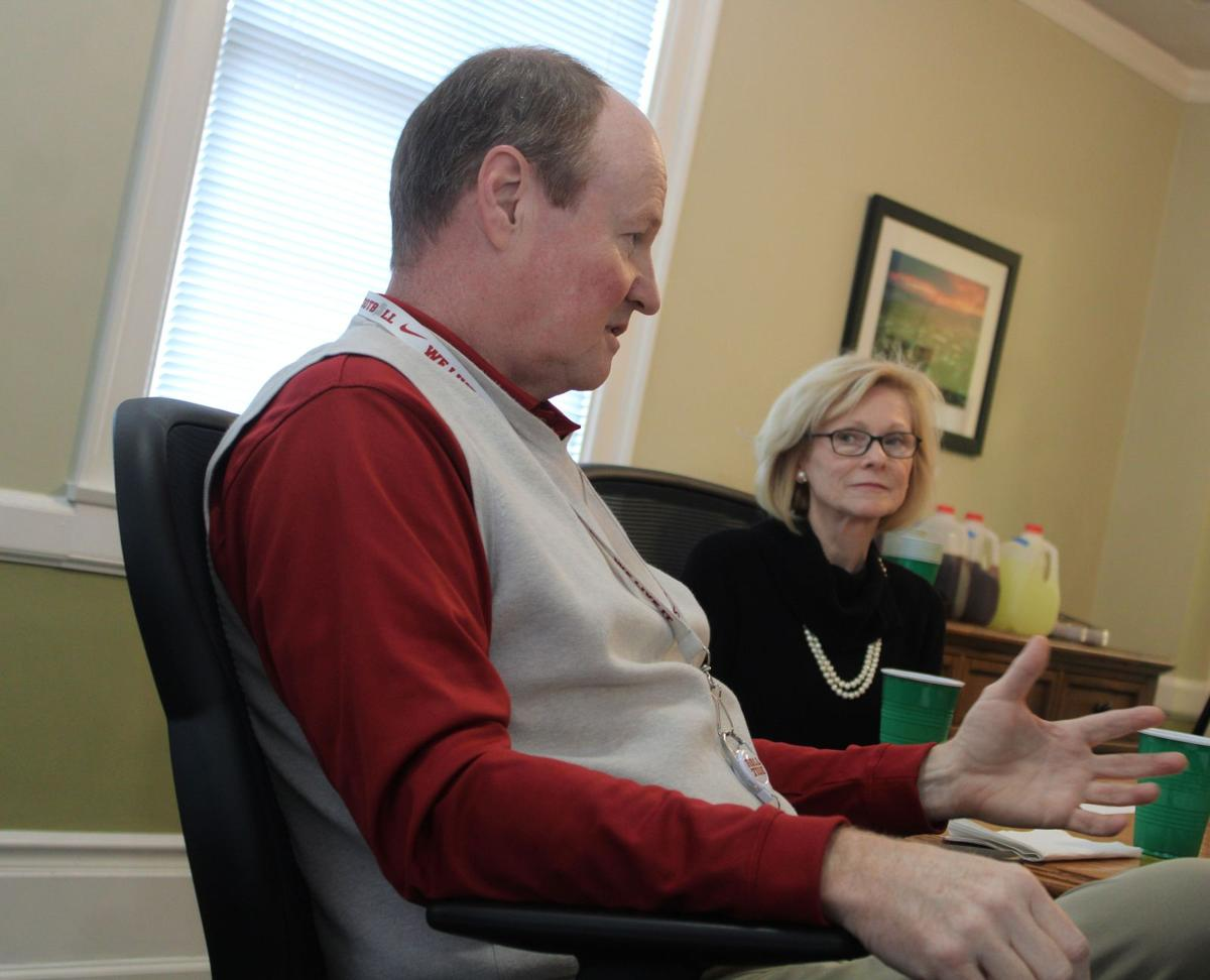 County Commissioners talk with state legislators