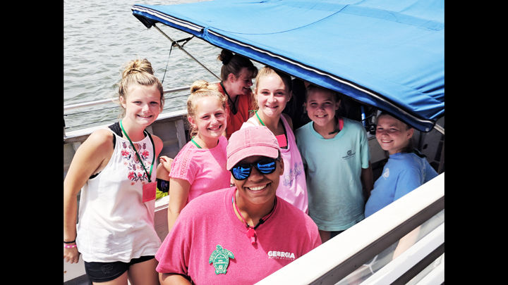 Middle school students learn about marine science on Tybee Island