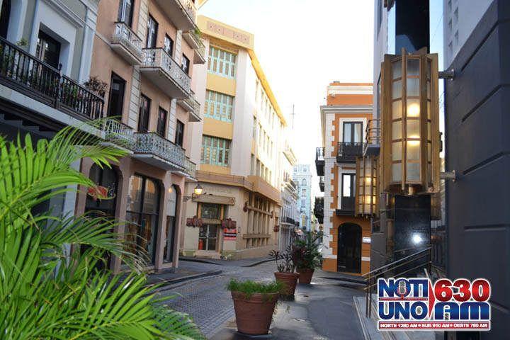 Viejo San Juan - calle - Foto NotiUno - febrero 18 2019