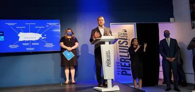 Pedro Pierluisi - conferencia de prensa - plan de gobierno - Foto suministrada - octubre 21 2020