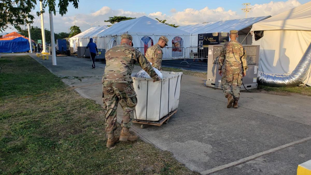 Reserva del Ejercito - ayuda a damnificados del sur - Foto suministrada 2 febrero 14 2020