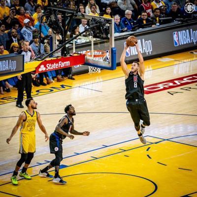 NBA - Los Angeles Clippers - jugador - Foto LA Clippers Twitter - abril 16 2019