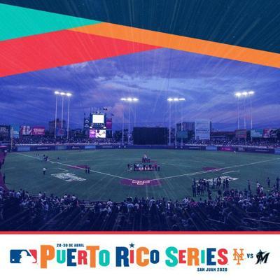 MLB - Puerto Rico Series 2020 - Mets vs Marlins - agosto 12 2019