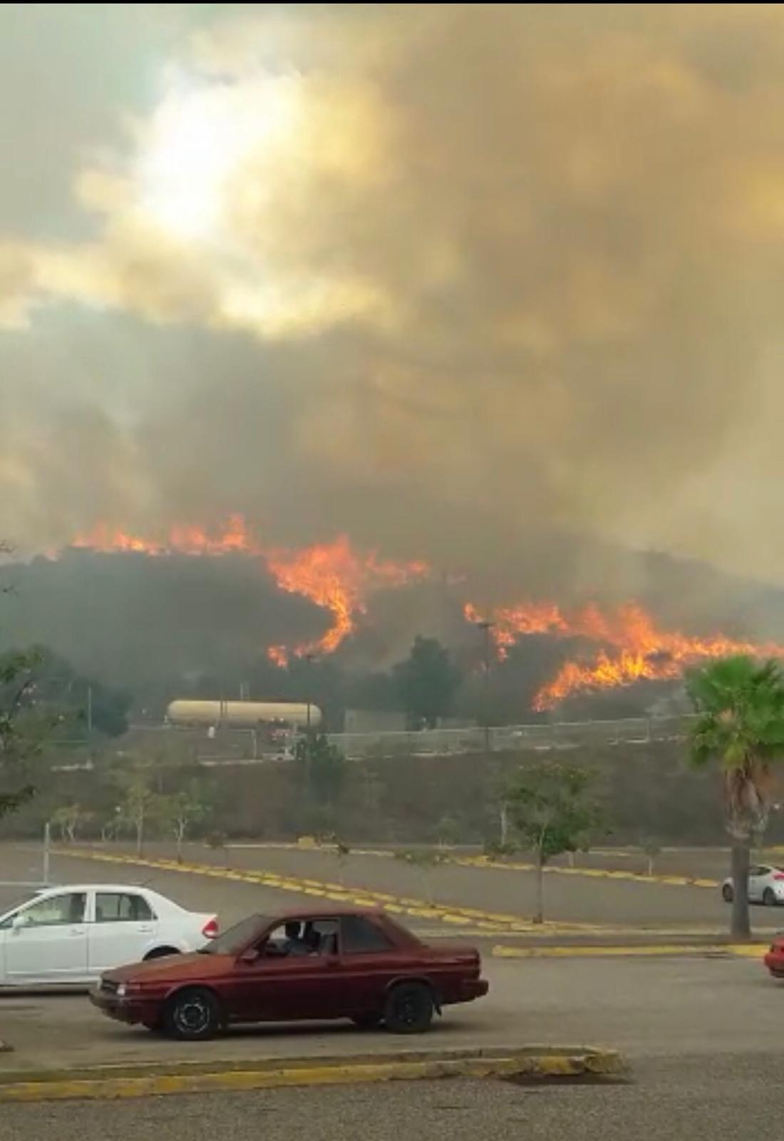 Incendio en Coamo