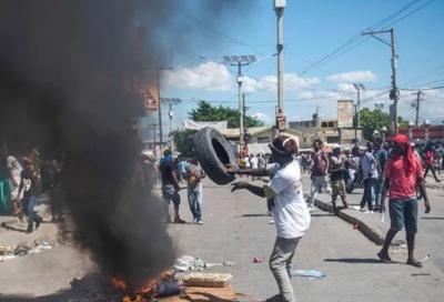 Haiti - protestas - se escapan presos de carcel - Foto via El Nacional - febrero 13 2019